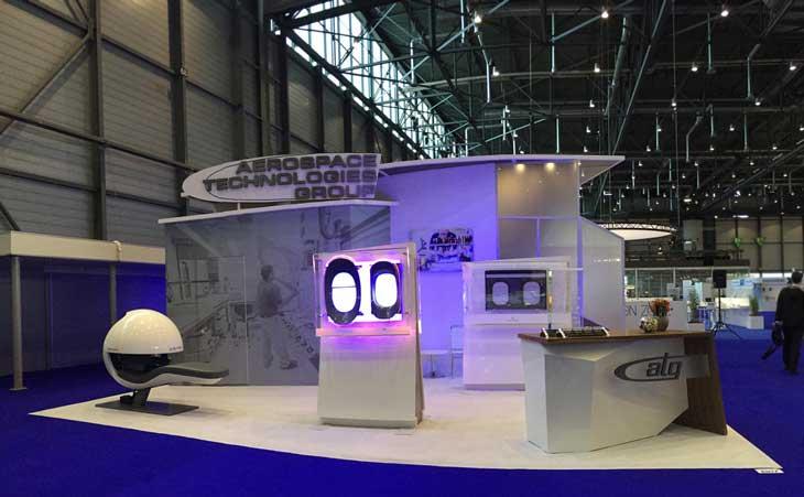 aerospace booth w energypod